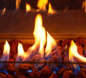 Gas Feuerstelle von Amare