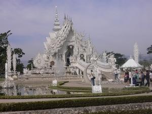 Wat Rong Khun Tempel - <a href=